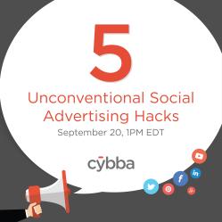 5 Unconventional Social Ad Hacks