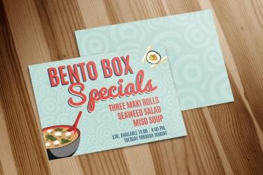 Bento Box Special